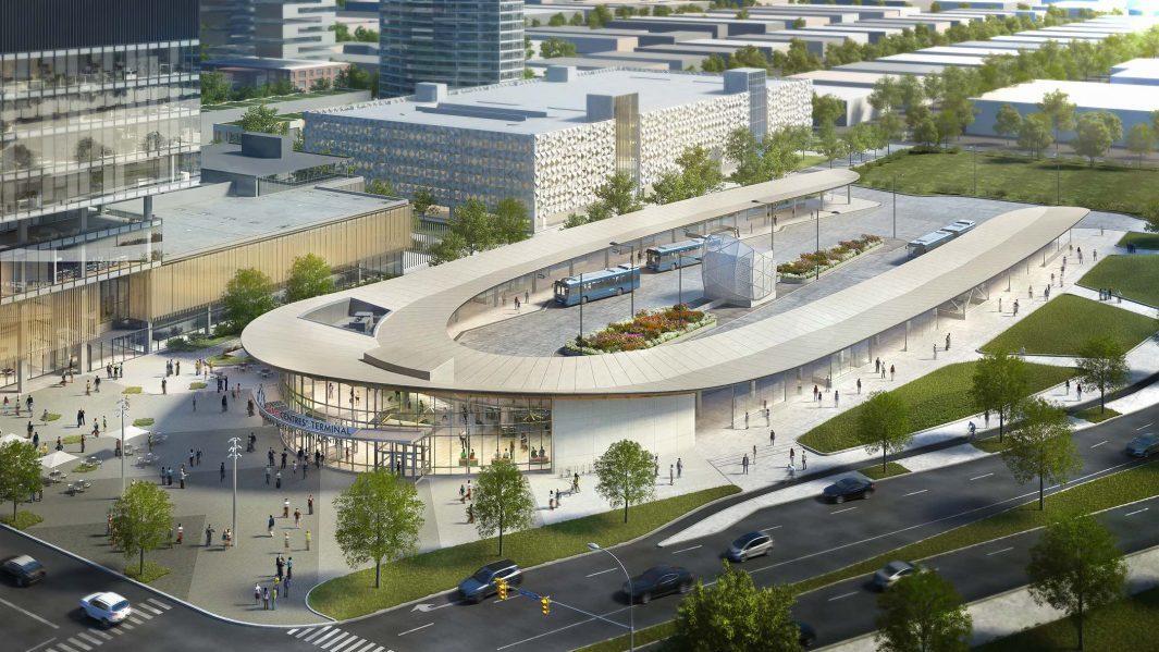 VMC Transit Terminal. Photo courtesy of Diamond Schmitt Architects.