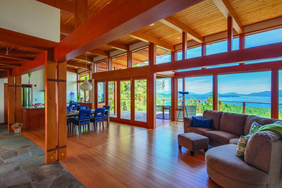 Kim Smith, Arbutus House. Photo Credit: Wood WORKS! BC – 2017 Wood Design Awards in B.C.