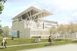 Mohawk College, Joyce Centre for Partnership & Innovation, Hamilton, Ontario. Image courtesy of CaGBC