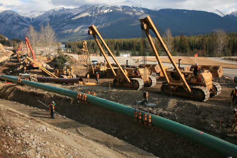 Image courtesy of Trans Mountain Expansion Project