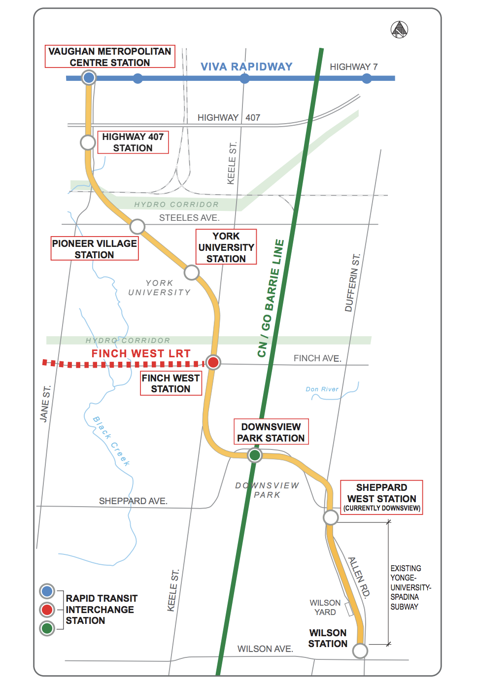 Toronto Subway Map Yonge Line.Toronto York Ttc Subway Extension Readies For December Opening
