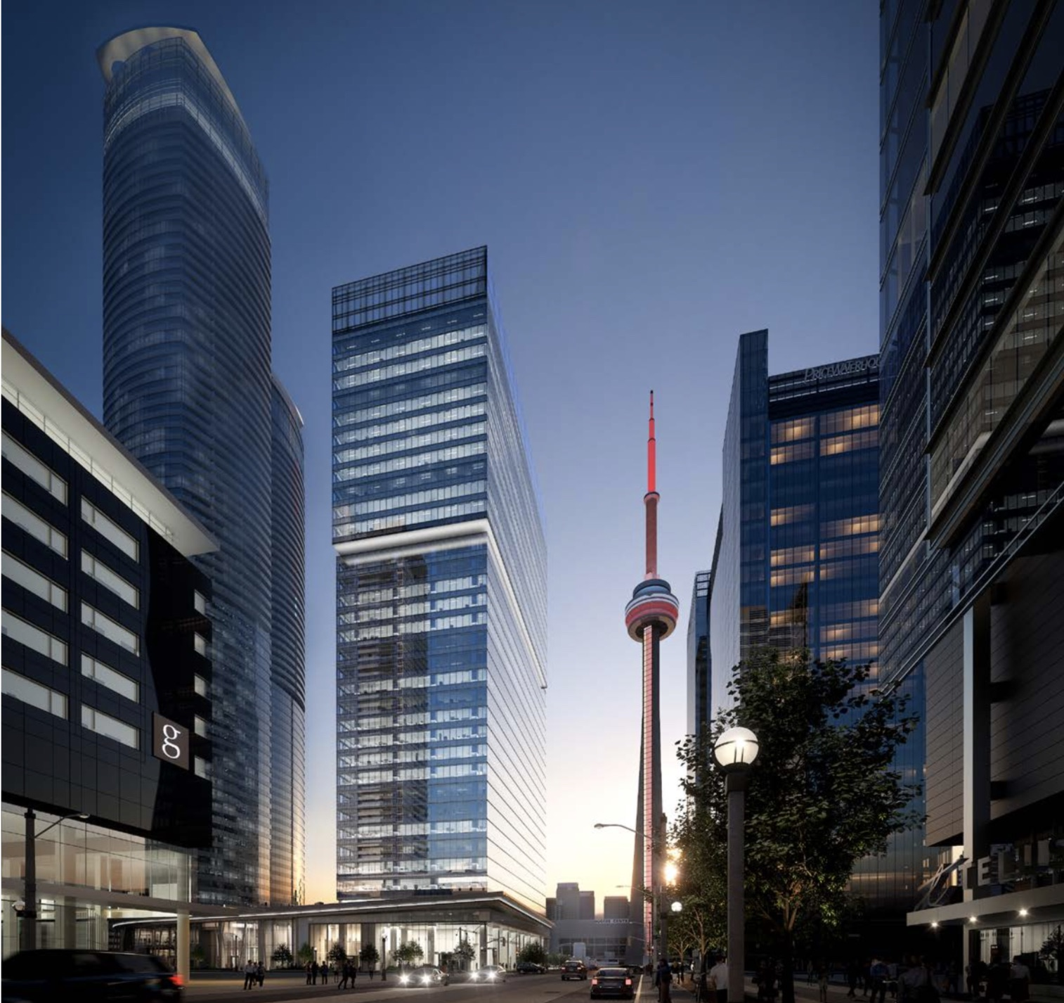 HSBC to anchor CF's 16 York office tower in downtown Toronto